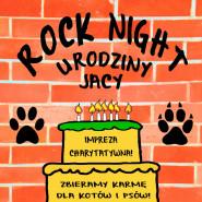 Rock Night: Urodziny Jacy - Zbiórka karmy dla kotów i psów