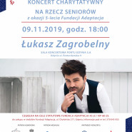 Łukasz Zagrobelny - koncert charytatywny