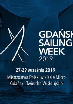 Gdańsk Sailing Week 2019 - Mistrzostwa Polski w klasie Micro