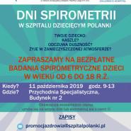 Dni Spirometrii - badania i konsultacje
