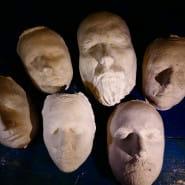 Odlewanie twarzy - warsztaty