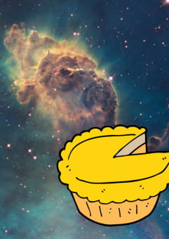 Kosmos jak szarlotka - spotkanie naukowe