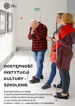 Dostępność Instytucji Kultury - szkolenie