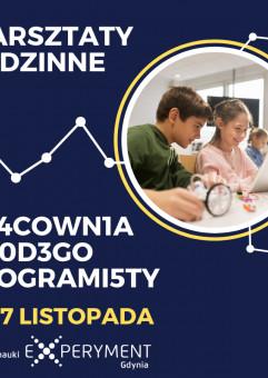 Warsztaty rodzinne - Pr4cown1a mł0d3go programi5ty
