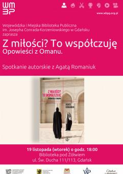 Opowieści z Omanu - spotkanie z Agatą Romaniuk