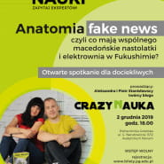 Anatomia fake news - spotkanie z blogerami Crazy Nauka