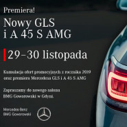 Nowy GLS i A 45 S AMG