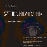 Sztuka niewidzenia, wystawa pokonkursowa, Mikołaj Harmoza