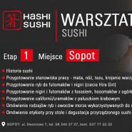 Warsztaty kulinarne Hashi Sushi SOPOT