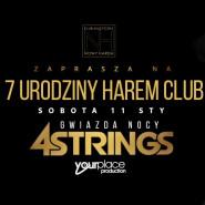 7 urodziny Harem club - 4 Strings