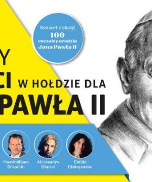 Włoscy artyści w hołdzie dla Jana Pawła II