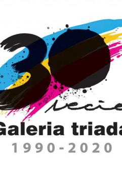 30-lecie galerii Triada wystawa artystów galerii