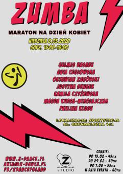 Zumba Maraton na Dzień Kobiet