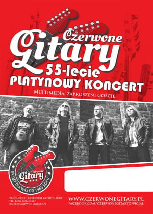 Czerwone Gitary  - Gdańsk, 27 października 2020 (wtorek)
