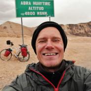 Piotr Strzeżysz: Zaistnienia, czyli rowerem z Patagonii na Alaskę