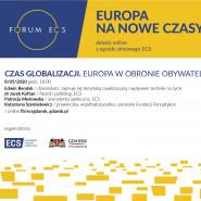 Czas globalizacji. Europa w obronie obywateli
