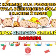 Kartka dla Szpitala Dziecięcego Polanki #rysowaneuśmiechem