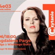 Magdalena Parys - spotkanie autorskie online