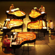 ArtLoop Festival: ArtLoop: Jaskułke - Chopin na 5 fortepianów