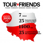 TOUR de FRIENDS - spotkanie inauguracyjne