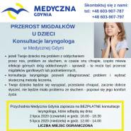 Przerost migdałków u dzieci - konsultacje laryngologa