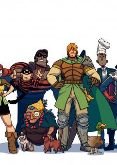 Rycerz Janek - spotkanie z twórcami komiksu