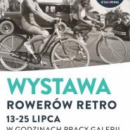 Wystawa retro rowerów
