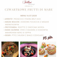 Czwartkowe Frutti di Mare w Fellinim