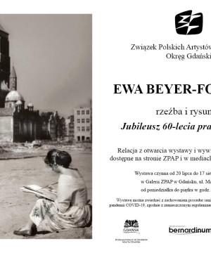 60. lecie pracy artystycznej Ewy Beyer-Formela