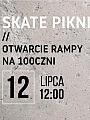 Skate piknik | otwarcie rampy na 100czni