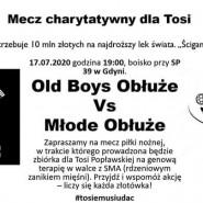 Mecz charytatywny dla Tosi