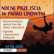 """IV Edycja Nocnego Przejścia po Parku Linowym """"Port Brzeźno"""""""