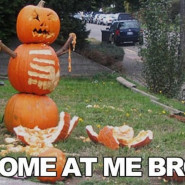 Ostatnie Halloween przed pierdlem