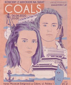 Koncert z widokiem na świat: Coals