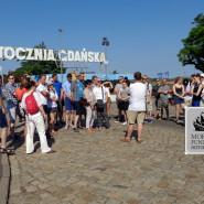 Strajkowe wspomnienia Sierpniowe - spacer po Stoczni Gdańskiej
