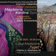 Impresje malarskie - Złotem Malowane