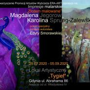 """Impresje Malarskie """" Żłotem malowane"""""""