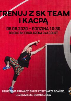 Trenuj z Kacpą na boisku SK Ergo Arena 3x3 Court