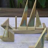 Wariacje z drewnem  - budujemy statki