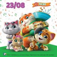 FILMOWE PORANKI: 44 Koty, cz. 1