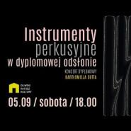 Koncert dyplomowy Bartłomieja Sutta