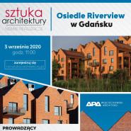 Ceglane osiedle Riverview w Gdańsku - prezentacja online