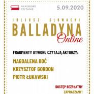Narodowe Czytanie   Balladyna Juliusza Słowackiego