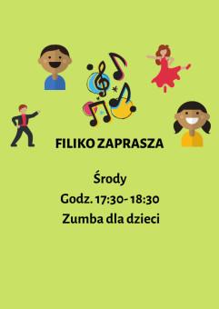 Zumba dla dzieci w Filiko