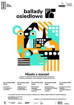 Ballady Osiedlowe. Koncerty Miasto z Marzeń - Gdynia Główna