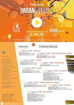 Festiwal ORGANy PLUS+. Jesień 2020
