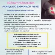 Bezpłatne Badania USG piersi - Różowy Październik