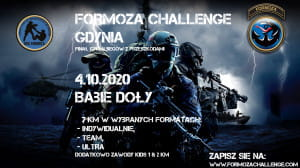 Bieg Formoza Challenge w Gdyni - Gdynia, 4 października 2020 (niedziela)