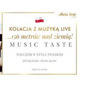 Music Taste - kolacja komentowana w stylu polskim