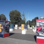 Wystawa dotyczącą Europejskiego Tygodnia Zrównoważonego Transportu